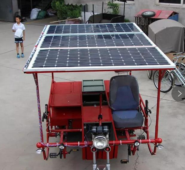traditional rigid solar panel